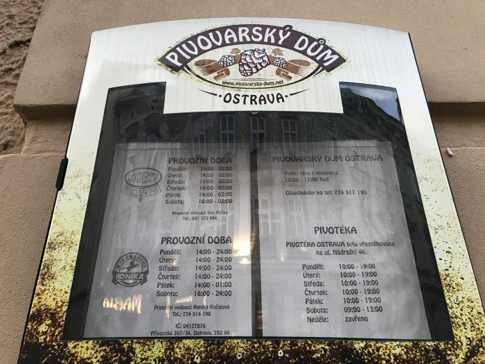craft beer ostrava hobit bar pivovarsky dum ostrava hours 700x525 - The best craft beer in Ostrava, Czech Republic