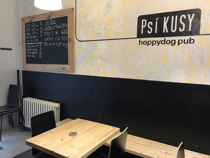 craft beer ostrava psi kusi hoppydog 700x525 - The best craft beer in Ostrava, Czech Republic
