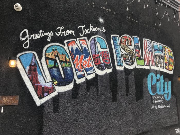 greetings from long island city mural 700x525 - The best craft beer in Long Island City, New York