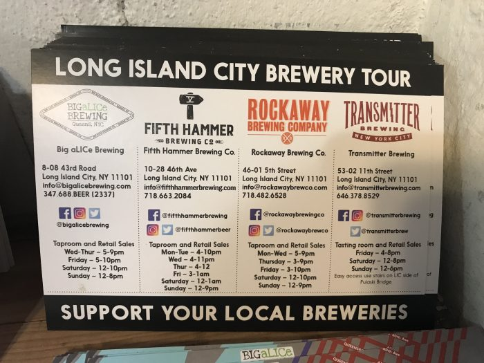 long island city brewery tour 700x525 - The best craft beer in Long Island City, New York