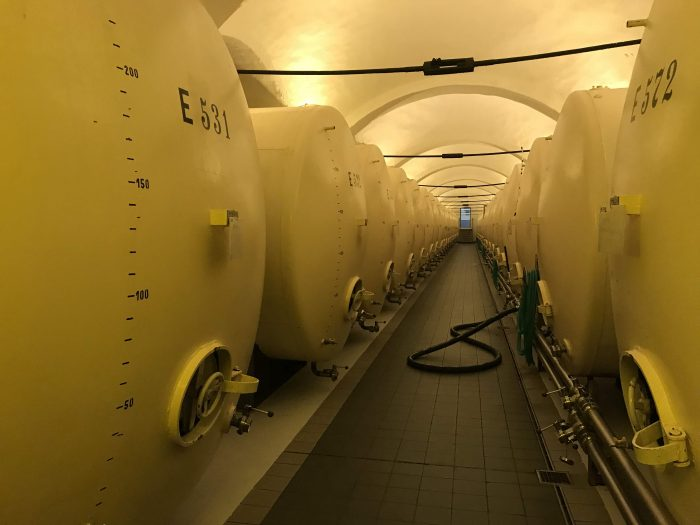 bohemia sekt winery tanks 700x525 - A visit to the Bohemia Sekt winery in Pilsen, Czech Republic