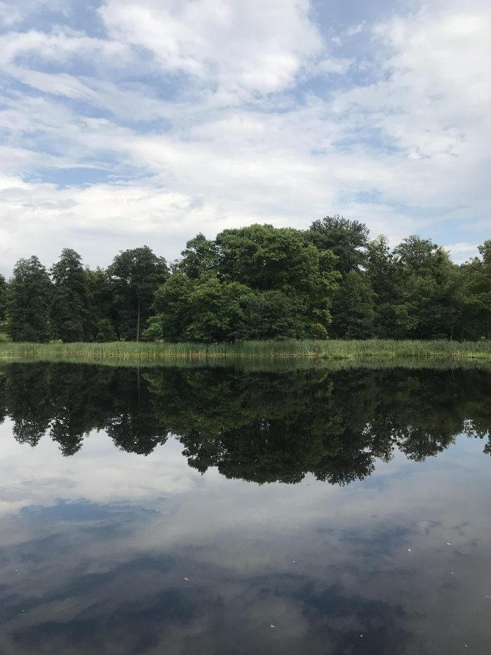 day trip to opava lake reflection 700x933 - A day trip from Ostrava to Opava, Czech Republic