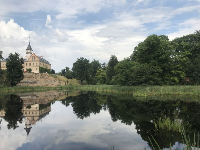 day trip to opava radun chateau lake 700x525 - A day trip from Ostrava to Opava, Czech Republic