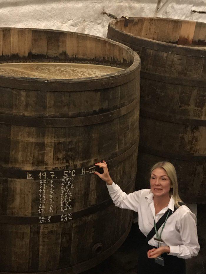 visit pilsner urquell brewery pilsen barrels 700x933 - A visit to the Pilsner Urquell Brewery in Pilsen, Czech Republic