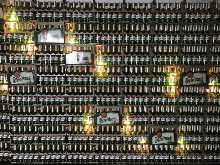 visit pilsner urquell brewery pilsen bottles logo 700x525 - A visit to the Pilsner Urquell Brewery in Pilsen, Czech Republic