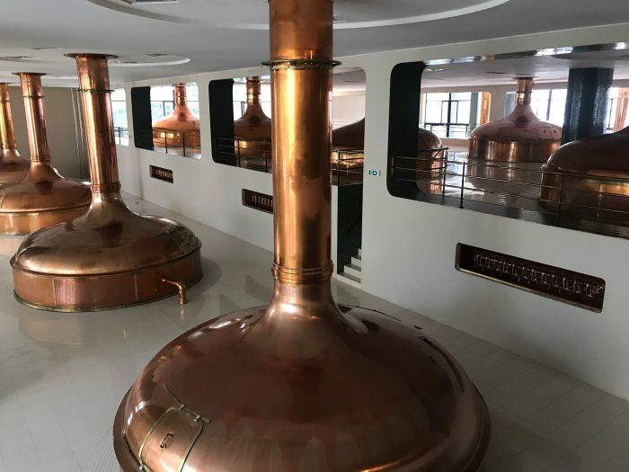 visit pilsner urquell brewery pilsen copper kettles 700x525 - A visit to the Pilsner Urquell Brewery in Pilsen, Czech Republic