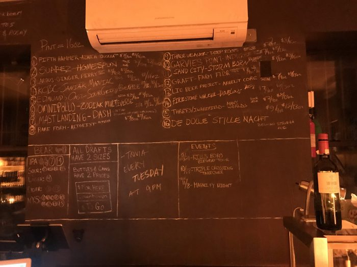 covenhoven craft beer prospect heights chalkboard tap list 700x525 - The best craft beer in Prospect Heights, Brooklyn, New York