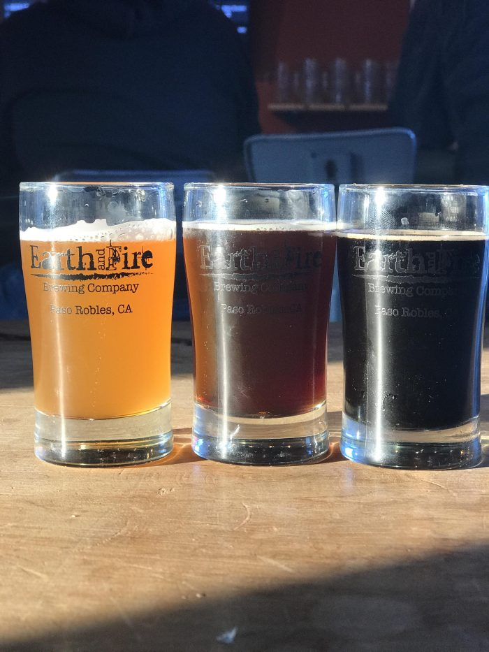 earth fire brewing craft beer paso robles 700x933 - The best craft beer in Paso Robles, California