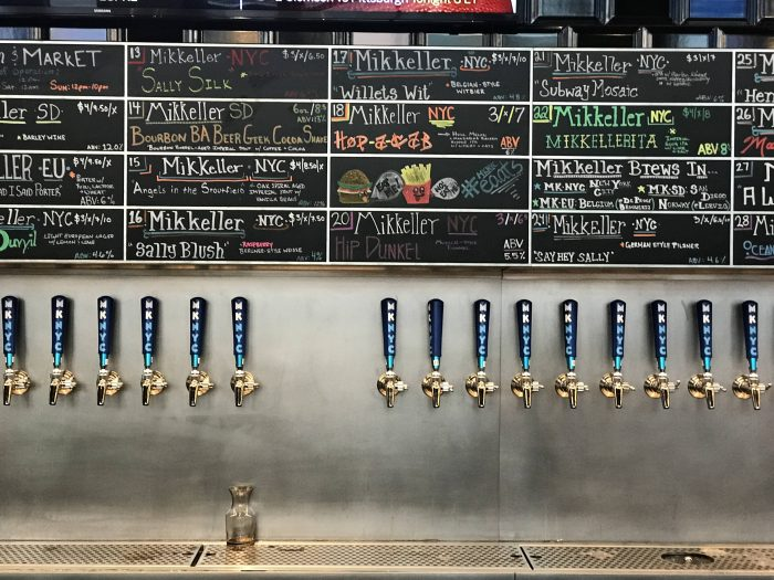 mikkeller brewing nyc 700x525 - The best craft beer in Flushing, Queens, New York