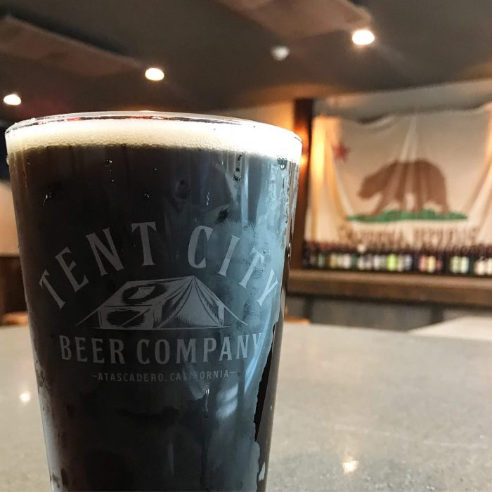 tent city beer company atascadero black ipa california republic 700x700 - The best craft beer in Atascadero, California