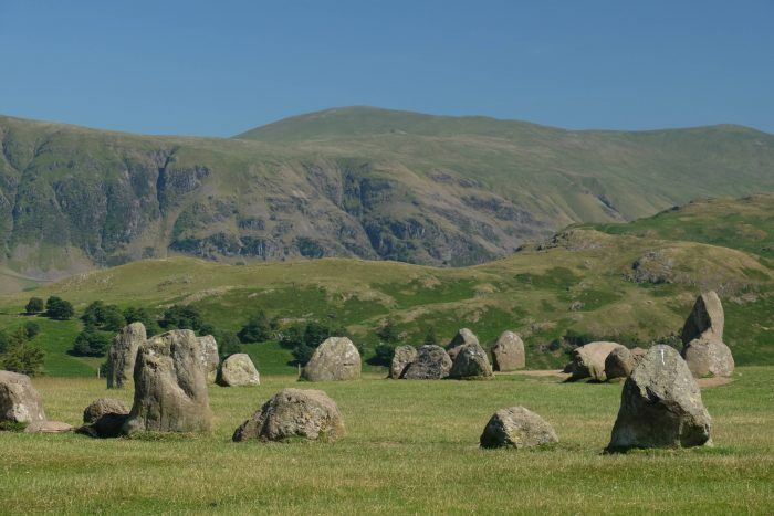 A visit to Castlerigg Stone Circle in the Lake District, England