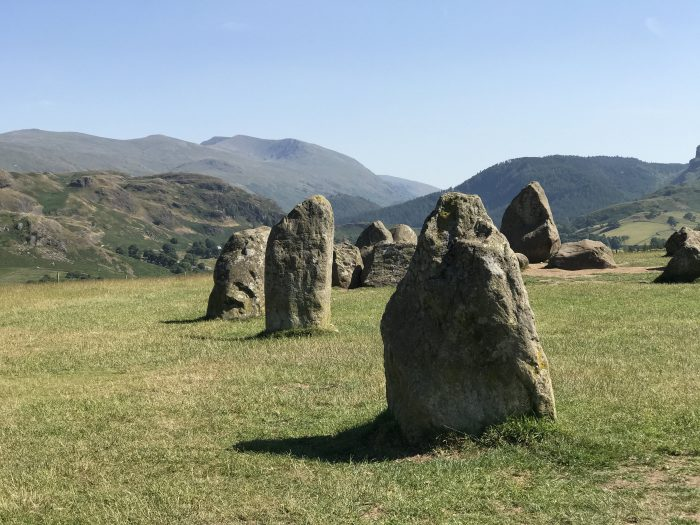 castlerigg stone circle mountains 700x525 - A visit to Castlerigg Stone Circle in the Lake District, England