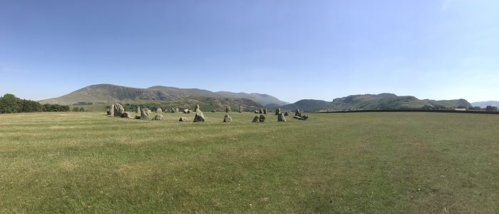 castlerigg stone circle panorama 700x300 - A visit to Castlerigg Stone Circle in the Lake District, England