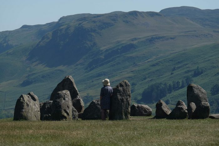 castlerigg stone circle view 700x467 - A visit to Castlerigg Stone Circle in the Lake District, England