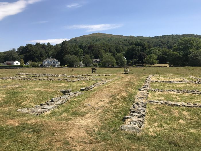 A visit to Ambleside Roman Fort in the Lake District, England