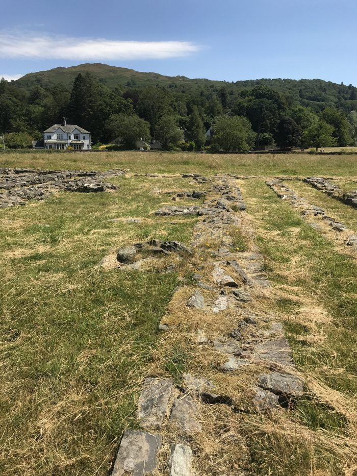 ambleside roman fort england 700x933 - A visit to Ambleside Roman Fort in the Lake District, England