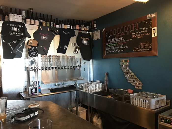 black doubt brewing company 700x525 - The best craft beer in Mammoth Lakes, California