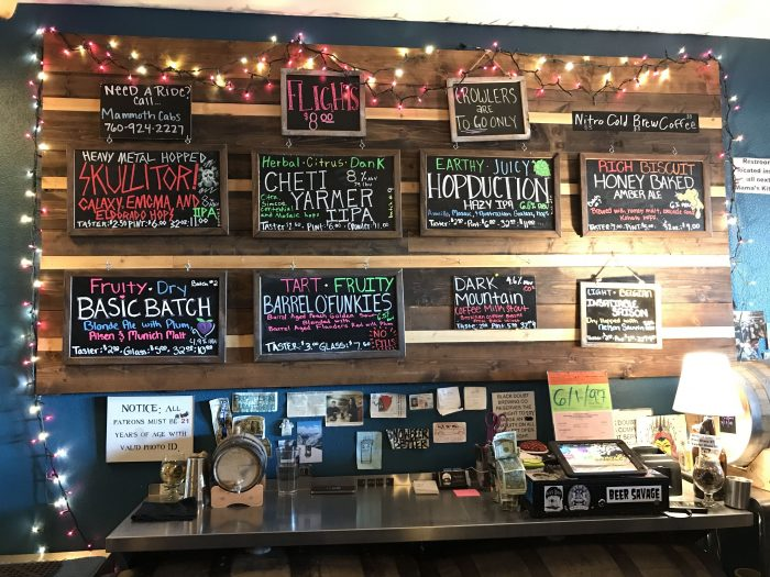 black doubt brewing company craft beer 700x525 - The best craft beer in Mammoth Lakes, California