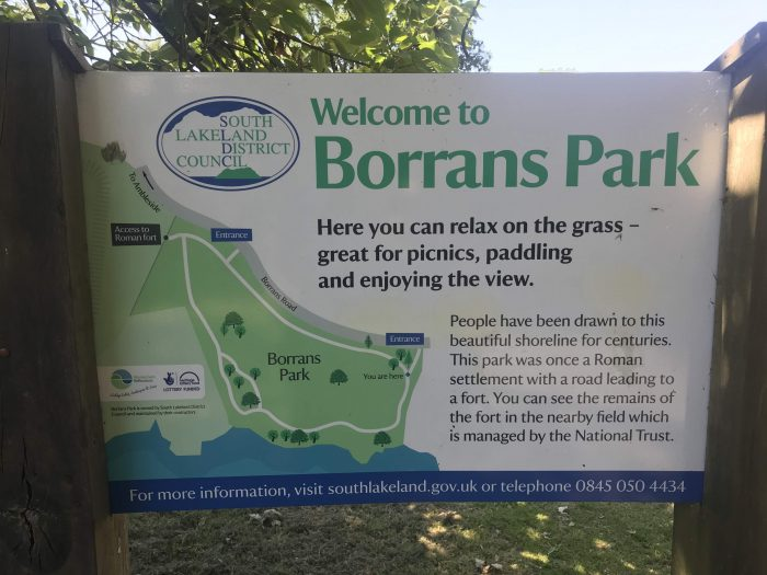 borrans park 700x525 - A visit to Ambleside Roman Fort in the Lake District, England