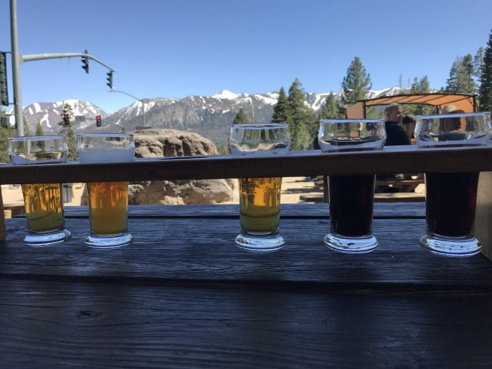 mammoth brewing company craft beer mammoth lakes flight 700x525 - The best craft beer in Mammoth Lakes, California