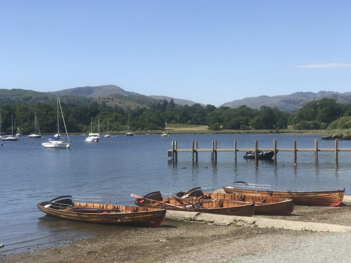 waterhead pier 700x525 - A visit to Ambleside Roman Fort in the Lake District, England