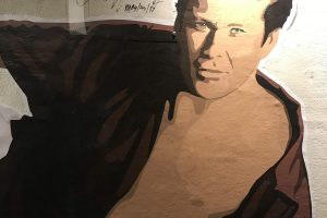 david hasselhoff museum mural 300x200 - A visit to the David Hasselhoff Museum in Berlin, Germany