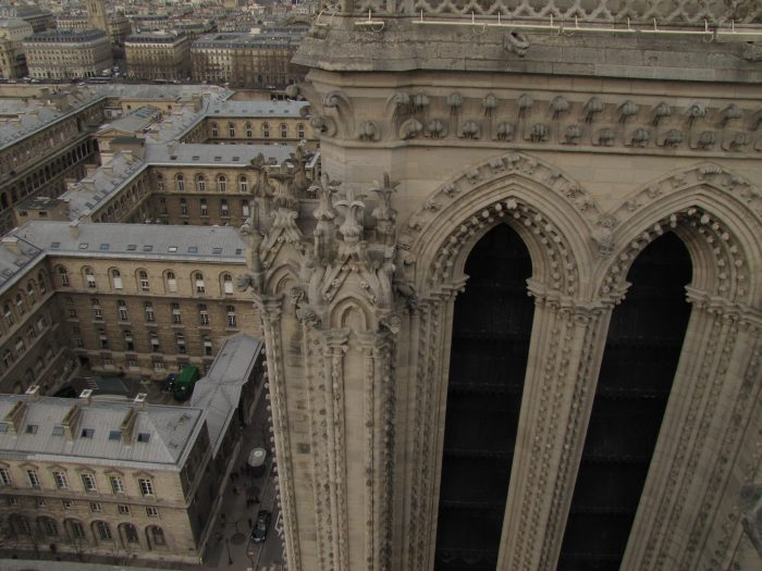 notre dame bell tower 700x525 - On Notre-Dame Cathedral, evolution, growth, & rebuilding