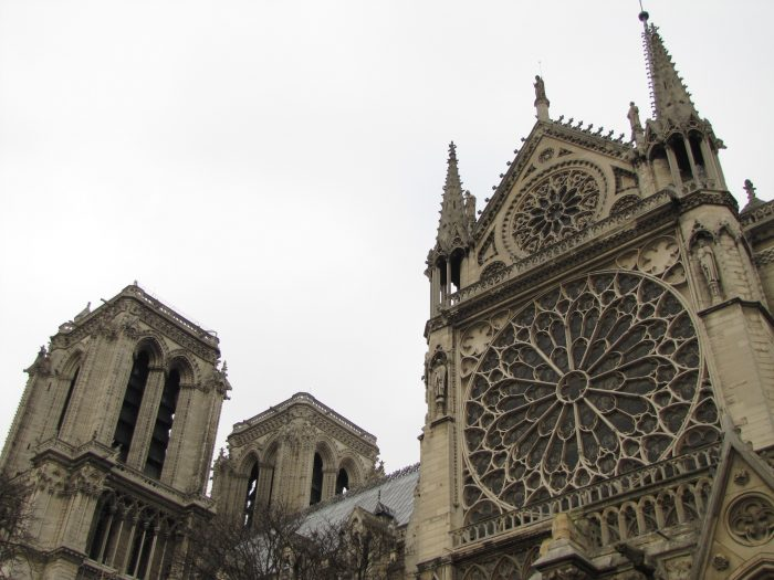 notre dame cathedral 700x525 - On Notre-Dame Cathedral, evolution, growth, & rebuilding