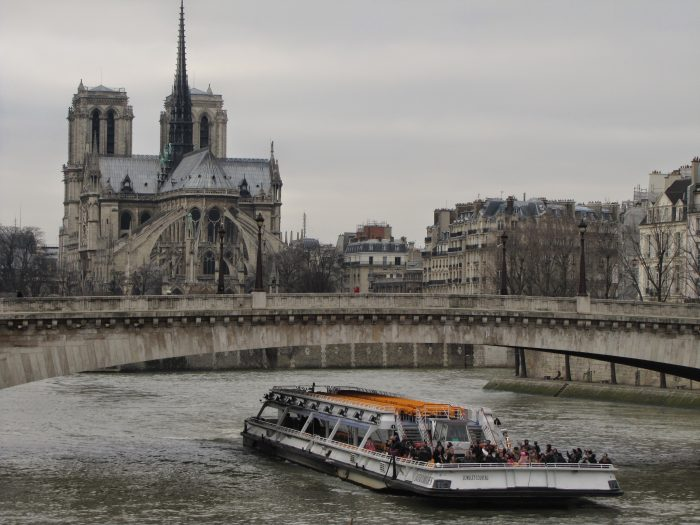 notre dame cathedral river seine 700x525 - On Notre-Dame Cathedral, evolution, growth, & rebuilding