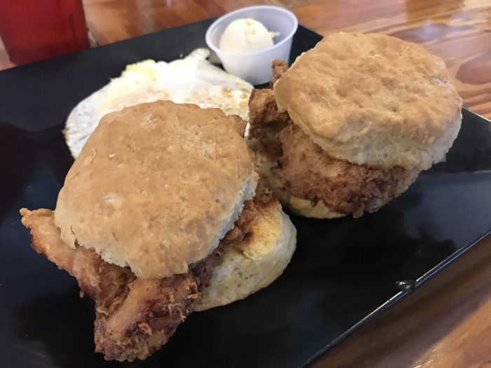 blue hen cafe buttermilk chicken biscuits st augustine 700x525 - The best craft beer in St. Augustine, Florida
