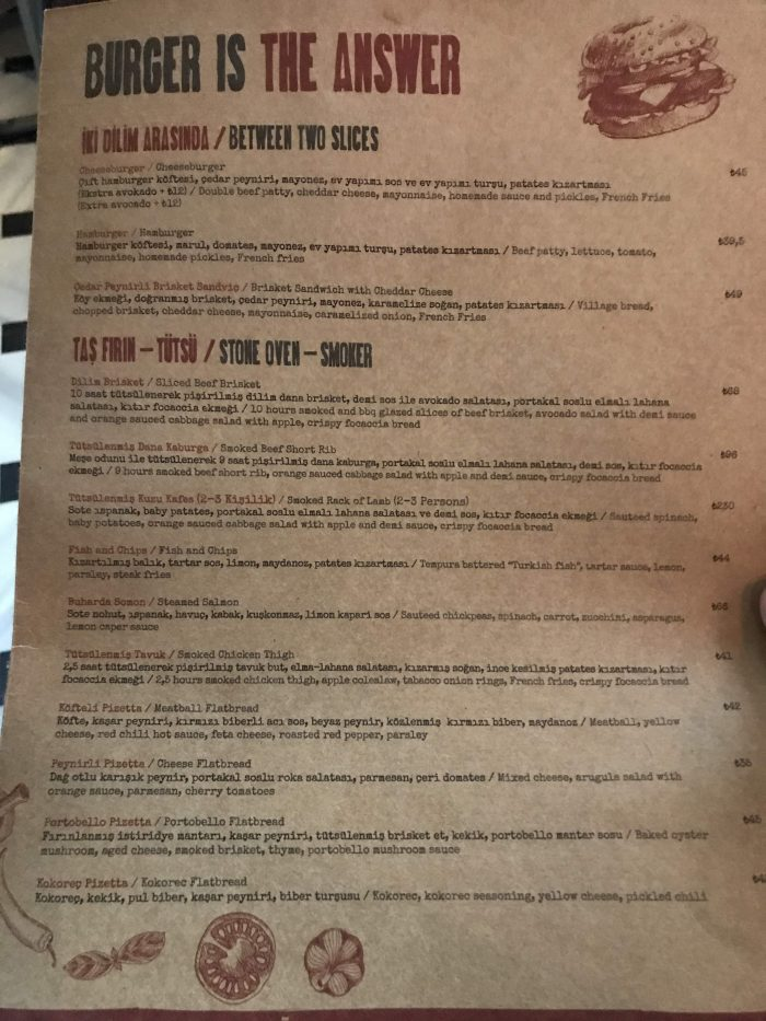 populist food menu craft beer istanbul 700x933 - The best craft beer in Istanbul, Turkey
