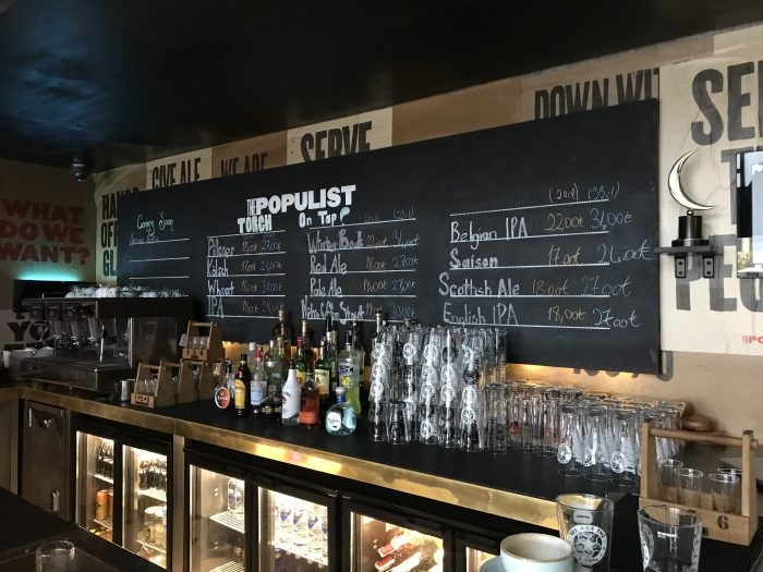 populist torch brewery craft beer istanbul 700x525 - The best craft beer in Istanbul, Turkey
