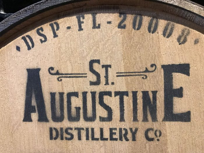 st augustine distillery barrel room 700x525 - A visit to the St. Augustine Distillery