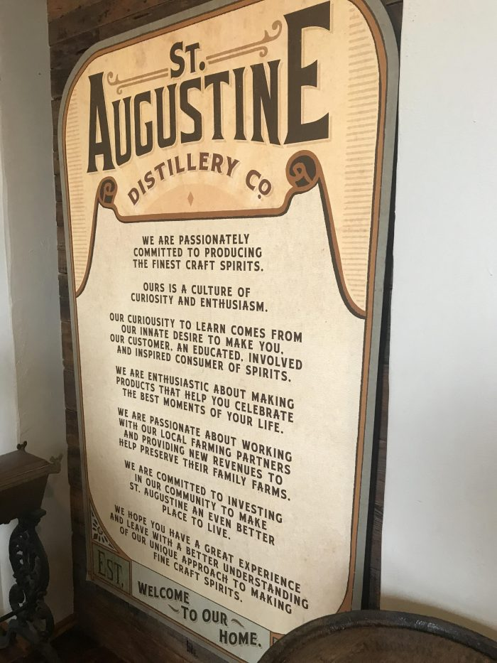 st augustine distillery philosophy history 700x933 - A visit to the St. Augustine Distillery