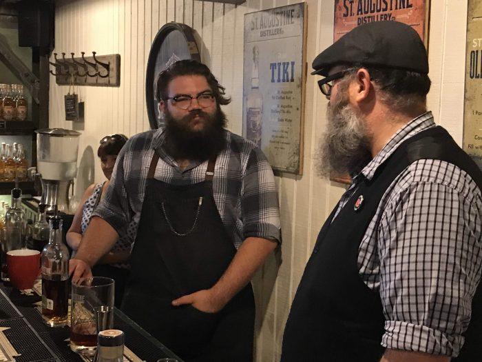 st augustine distillery tasting room bartenders 700x525 - A visit to the St. Augustine Distillery