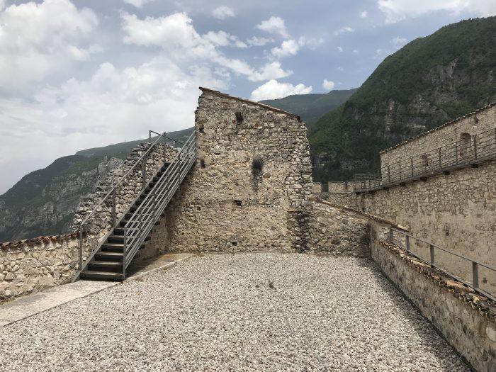castel beseno bastions 700x525 - A visit to Castel Beseno near Trento, Italy