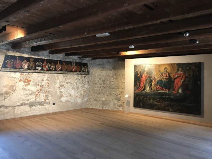 castel beseno exhibitions 700x525 - A visit to Castel Beseno near Trento, Italy