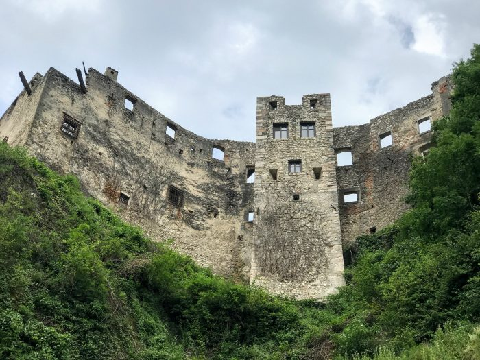 castel beseno fortifications 700x525 - A visit to Castel Beseno near Trento, Italy
