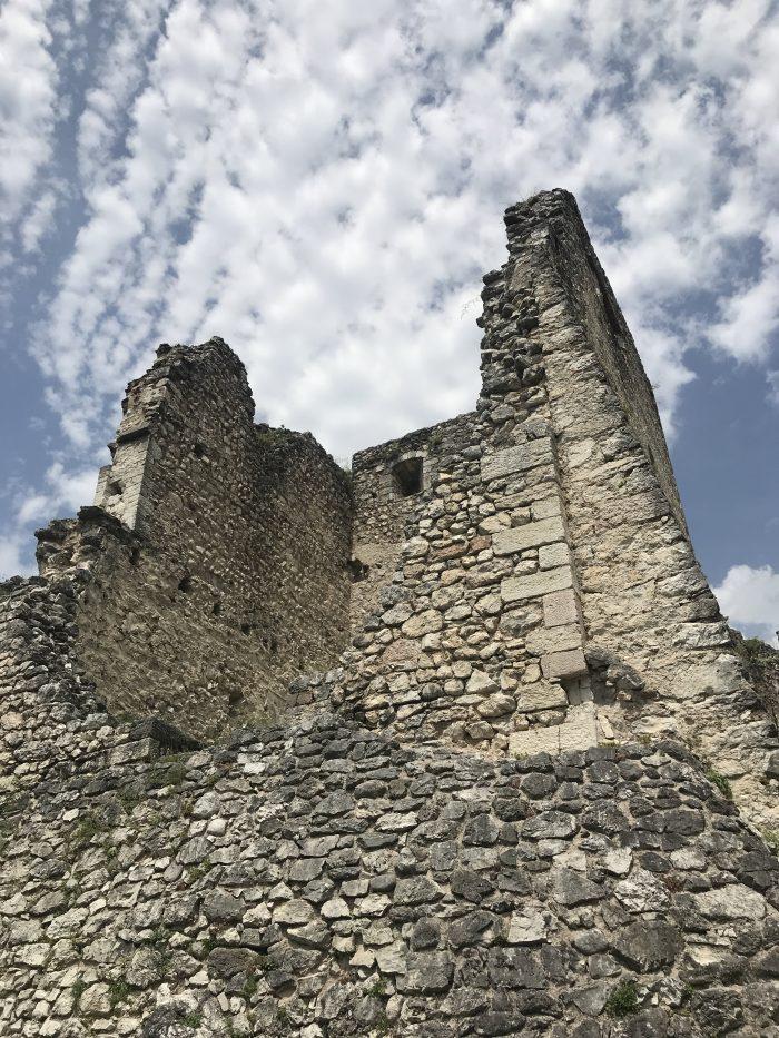castel beseno inner tower 700x933 - A visit to Castel Beseno near Trento, Italy