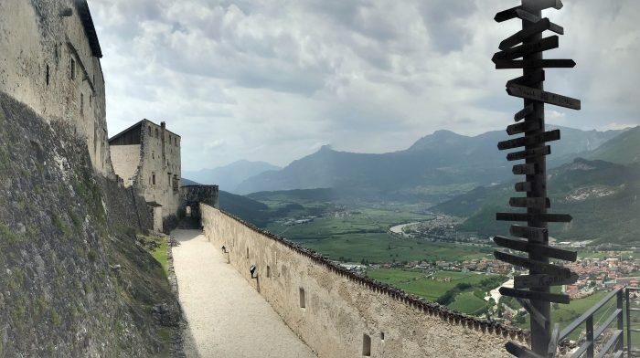 castel beseno overlook 700x392 - A visit to Castel Beseno near Trento, Italy