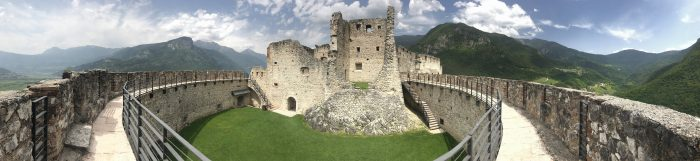 castel beseno panorama 700x161 - A visit to Castel Beseno near Trento, Italy