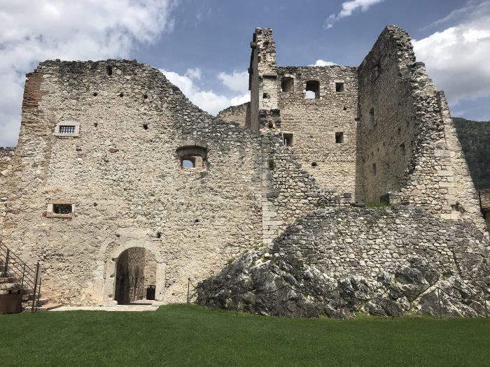 castel beseno tower 700x525 - A visit to Castel Beseno near Trento, Italy