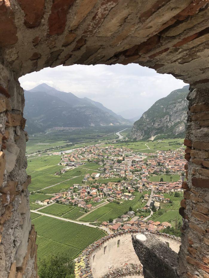 castel beseno view trento 700x933 - A visit to Castel Beseno near Trento, Italy
