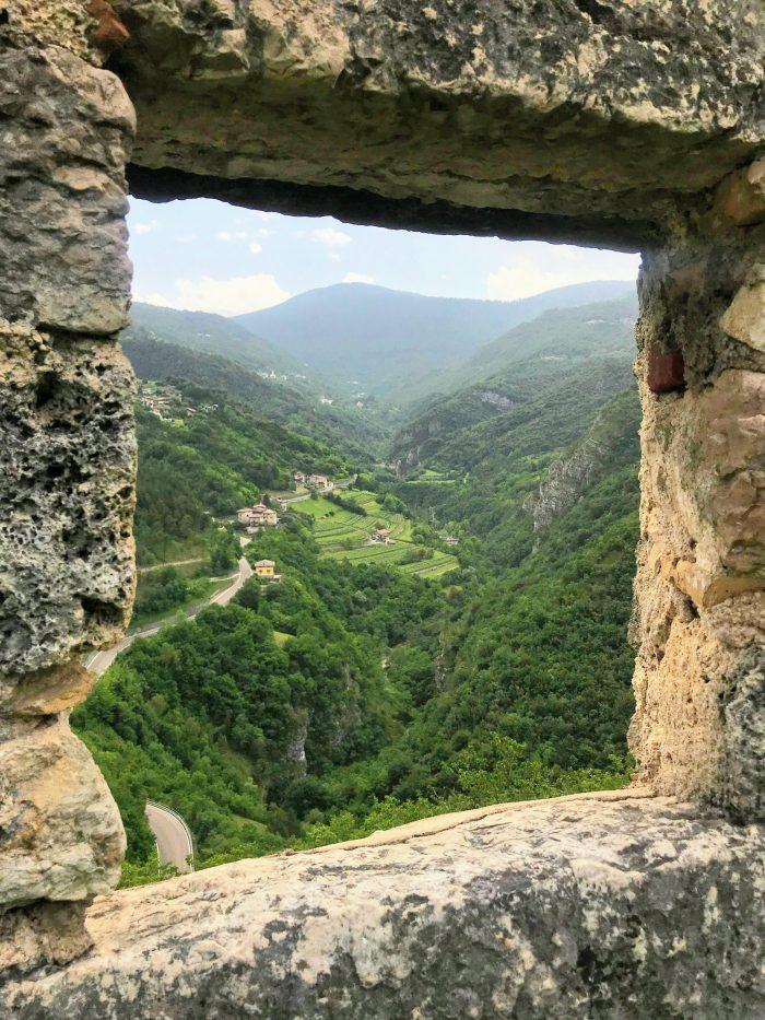 castel beseno vineyards 700x933 - A visit to Castel Beseno near Trento, Italy