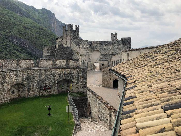 castel beseno walls 700x525 - A visit to Castel Beseno near Trento, Italy