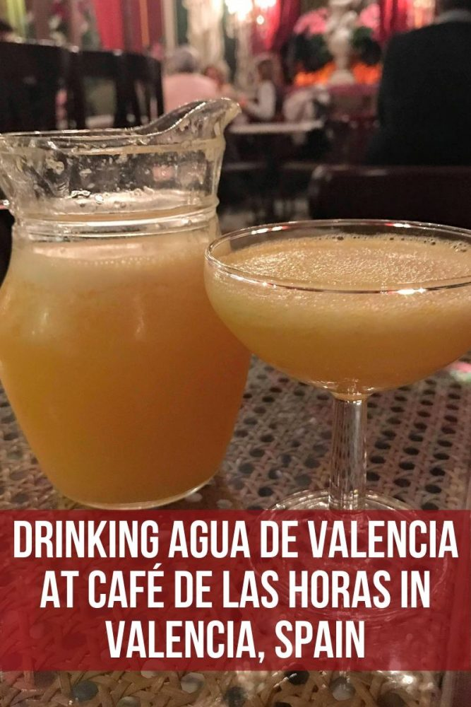 drinking agua de valencia at café de las horas in valencia spain 667x1000 - Drinking Agua de Valencia at Café de las Horas in Valencia, Spain