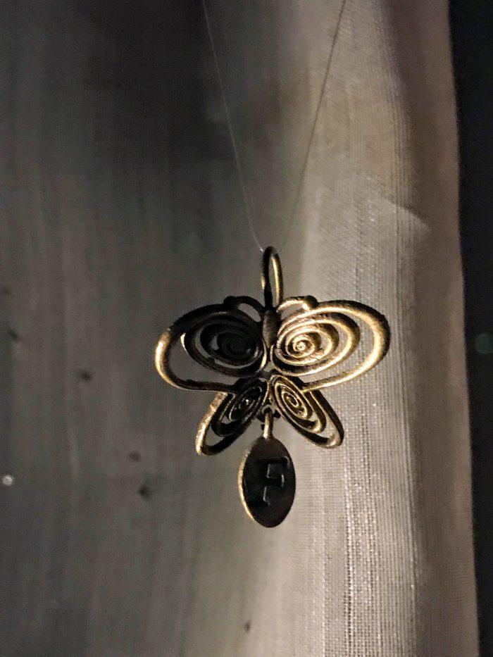 museum of innocence istanbul butterfly earring 700x933 - A visit to the Museum of Innocence in Istanbul, Turkey