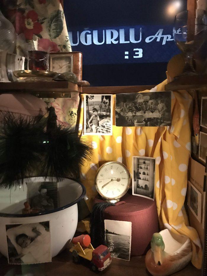museum of innocence istanbul secret apartment 700x933 - A visit to the Museum of Innocence in Istanbul, Turkey