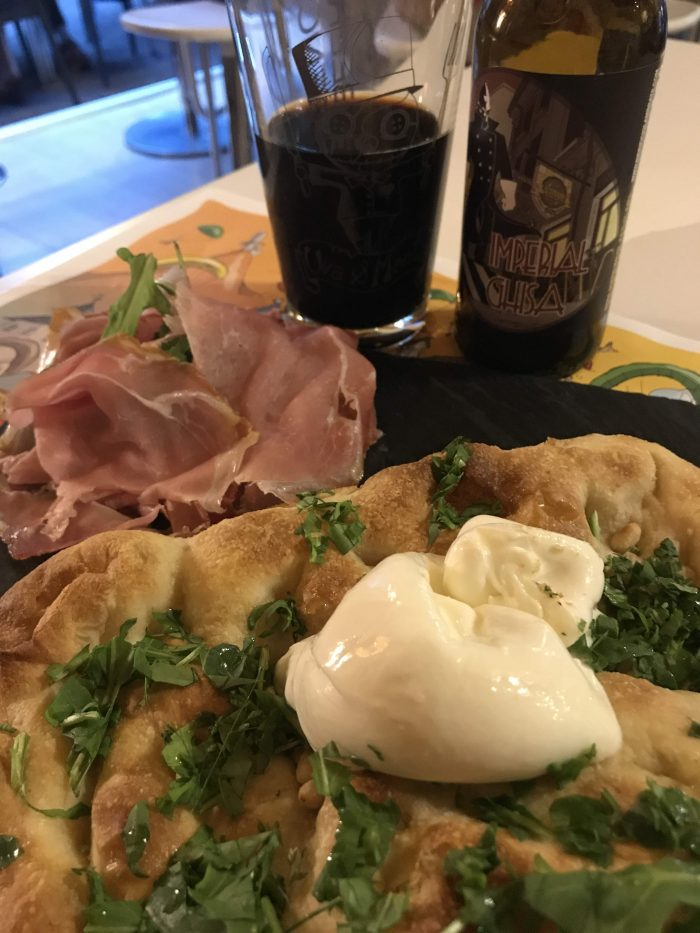 uva e menta focaccia pizza craft beer trento 700x933 - The best craft beer in Trento, Italy