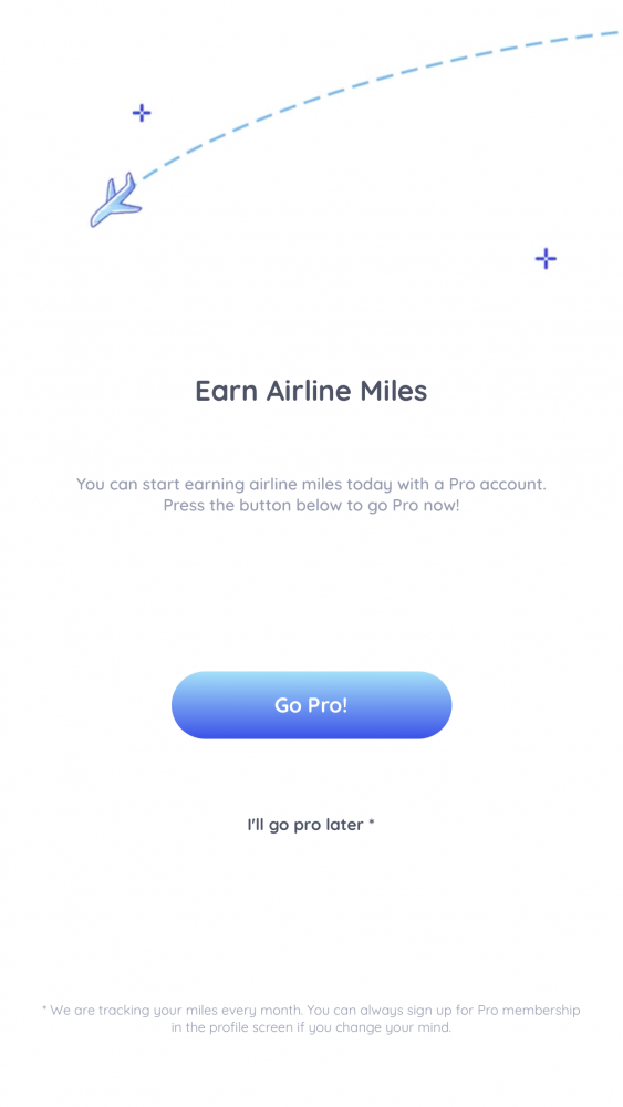 semler heart pro member signup 563x1000 - Earn airline miles with the Semler Heart app - is it a good idea?